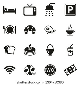Bed & Breakfast Icons