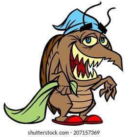 Cockroach Cartoon Images Stock Photos Vectors Shutterstock