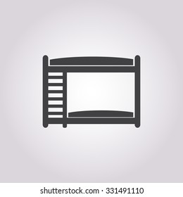 Bed icon.