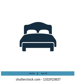 Bed Icon vector Symbol