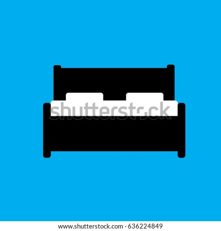 Bed Vector Bedroom Vector Bedroom Background Stock Vector Royalty