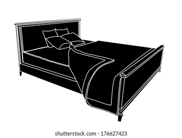 Bed Symbol Images Stock Photos Amp Vectors Shutterstock
