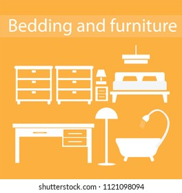 Bedding and furniture zone
