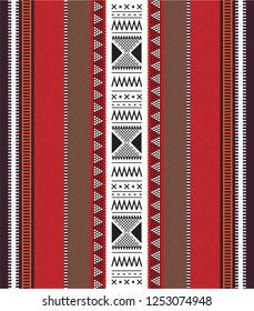 Bedouin Arabian Hand Weaving Pattern