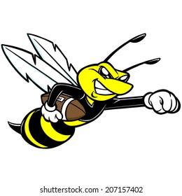 yellow jacket mascot images stock photos vectors shutterstock rh shutterstock com