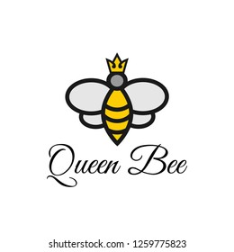 Bee honey graphic design template vector illustration