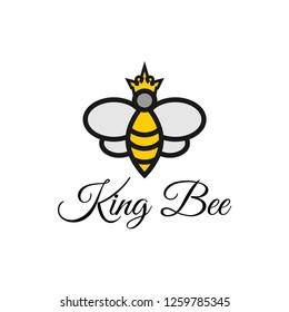 Bee honey graphic design template vector illustration