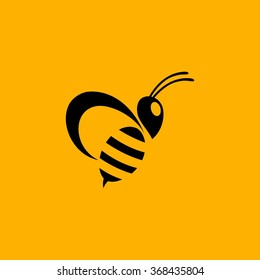 bee honey logo