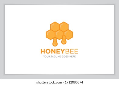 bee logo and icon vector illustration design template