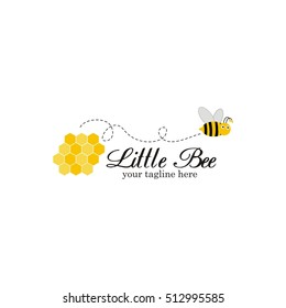Bee Logo Vector Design
