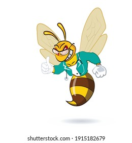 Bee Mascot Design and Health