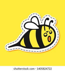 Angry Honey Bee Images, Stock Photos & Vectors   Shutterstock