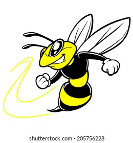Bee Team Mascot