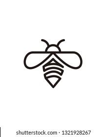 bee vector logo