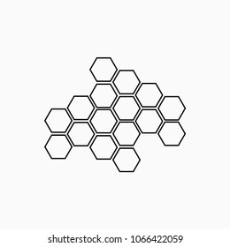 beehive honey nature honeycomb icon