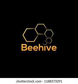 Beehive illustration logo