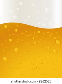Beer Background bubbles