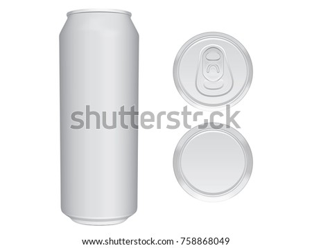 beer can easily change colors mock stock vector royalty free