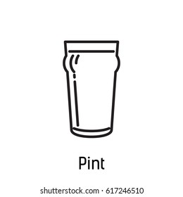 beer cup icon pint