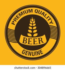 Beer digital design, vector illustration 10 eps graphic