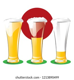 beer glass, beer,