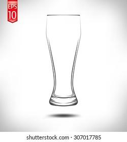 Cup Of Winners Beer Glass