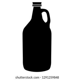 Beer Growler Vector Icon Illustration Symbol