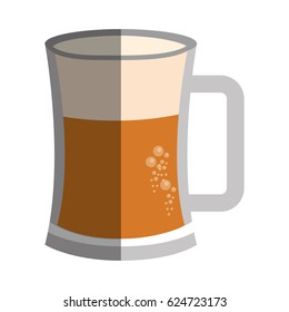 beer jar isolated icon