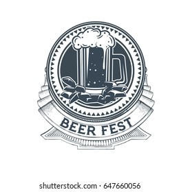 Beer label templates for brewing company