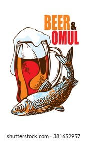 beer and omul