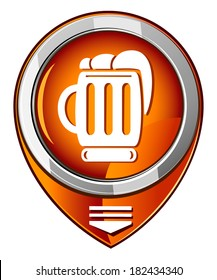 Beer orange pointer