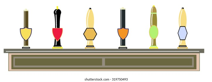 Beer pump handles