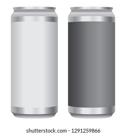 Beer Soda Pop Can Crowler Vector Icon Illustration Symbol