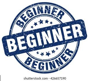 beginner. stamp