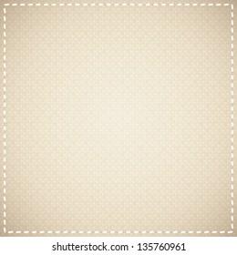 beige canvas texture, vector background