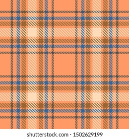 Beige,Blue and Khaki Tartan Plaid Scottish Seamless Pattern. Texture from tartan, plaid, tablecloths, shirts, clothes, dresses, bedding, blankets and other textile.