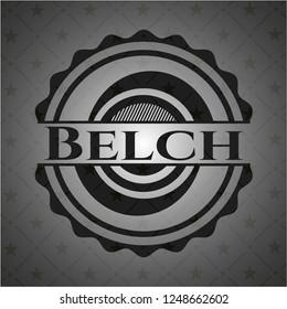 Belch dark icon or emblem