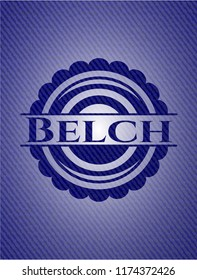 Belch emblem with jean high quality background