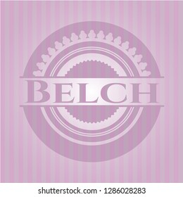 Belch pink emblem