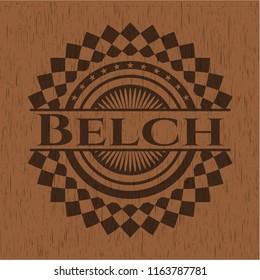Belch wooden signboards