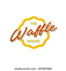 Belgian waffle logo