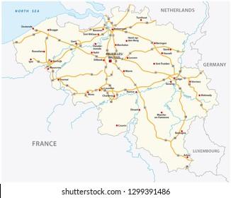 Motorway Map Of France.Motorway France Stock Vectors Images Vector Art Shutterstock