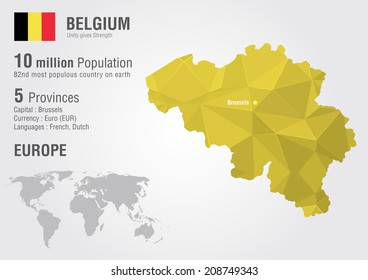 Colombia world map pixel diamond texture vector de stock209123512 belgium world map with a pixel diamond texture world geography gumiabroncs Choice Image