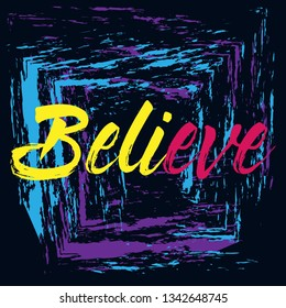 believe-beautiful-greeting-card-poster-2