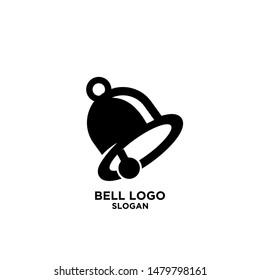 bell black logo icon design vector illustration