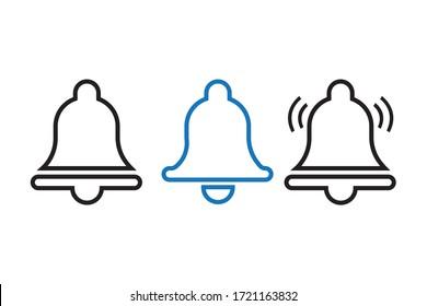 Bell icon design vector file