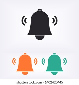 Bell icon vector.