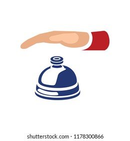 bell icon. vector alarm isolated - sound symbol