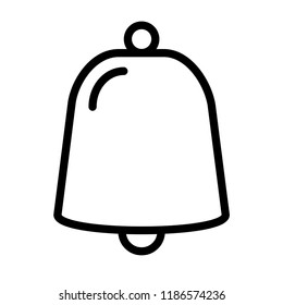Bell Icon Vector. EPS 10.