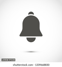 bell icon vector eps 10
